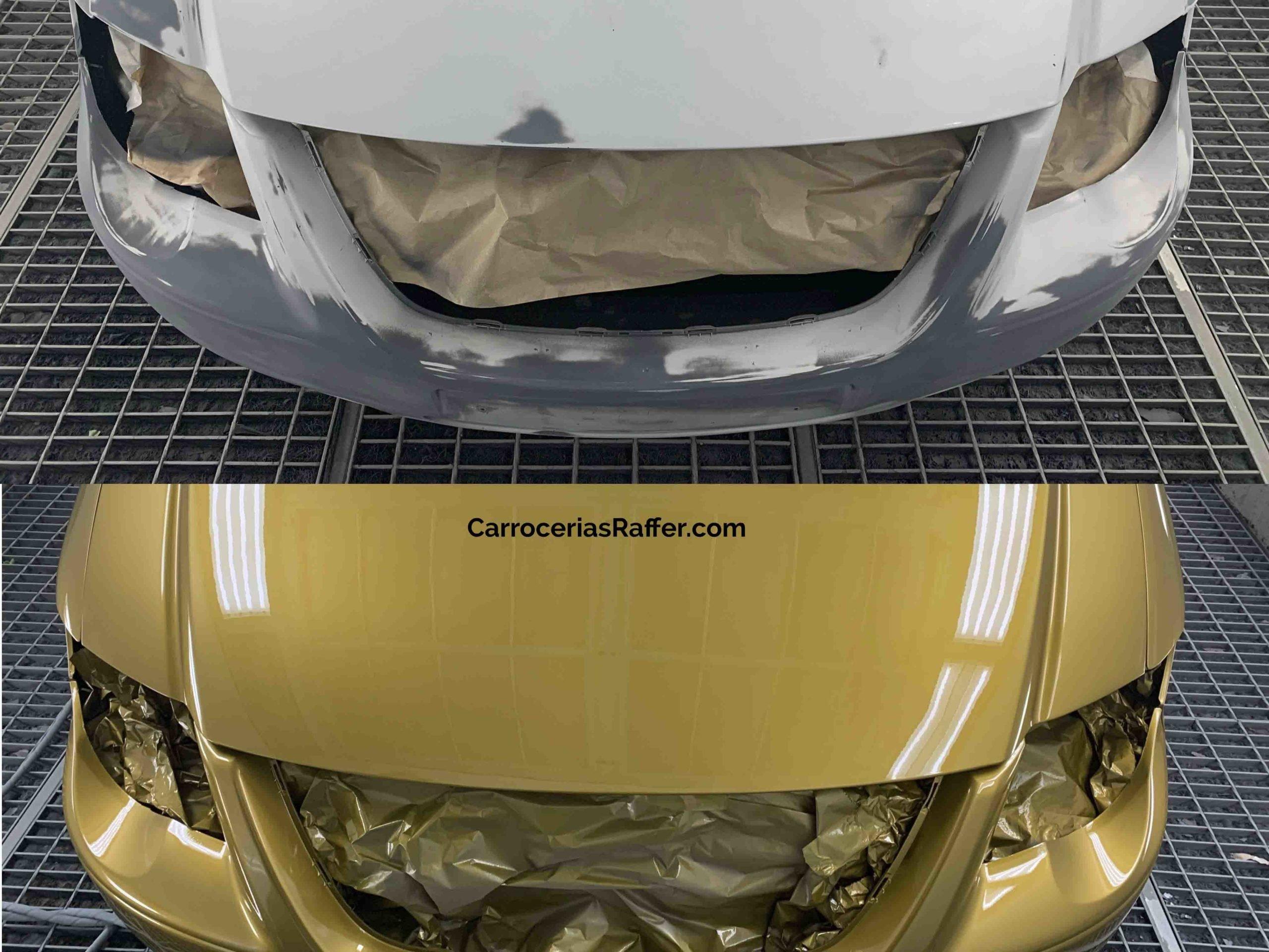 00001 chrysler voyager amarillo curcuma carrocerias raffer pintar furgoneta hernani gipuzkoa donostia san sebastian