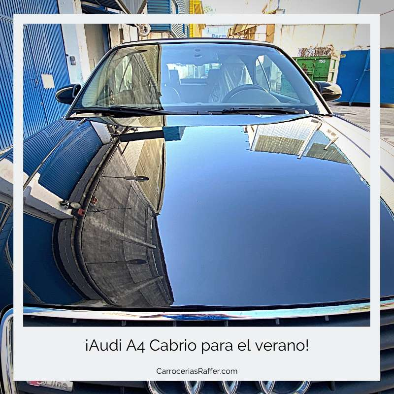 0 portada carrocerias raffer hernani donostia gipuzkoa taller de chapa y pintura audi cabrio descapotable
